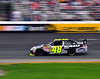 Jimmie Johnson, reigning three-time NASCAR Sprint Cup champion, drives into turn 4, at New Hampshire Motor Speedway, during the Lennox Industrial Tools 301, on June 28th, 2009.