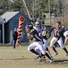 Monty Tech?s Javoy Griffiths breaks free for a touchdown.  SENTINEL & ENTERPRISE / JOHN LOVE