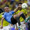 APTOPIX Colombia Uruguay Wcup Soccer