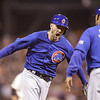 APTOPIX NLDS Cubs Giants Baseball