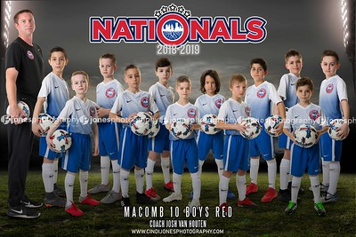 2 Nationals Macomb 10 Boys Red 2018-2019