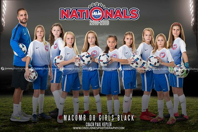 Nationals Macomb 08 Black 2018-2019