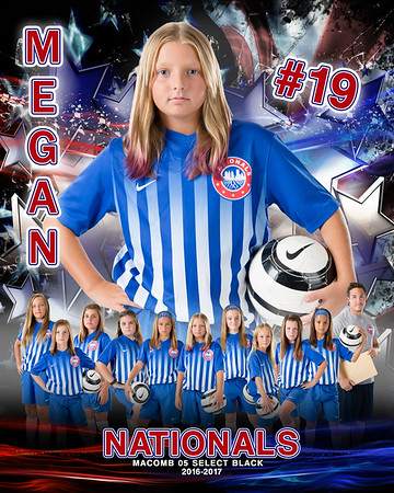 Megan Nationals Door Sign Template