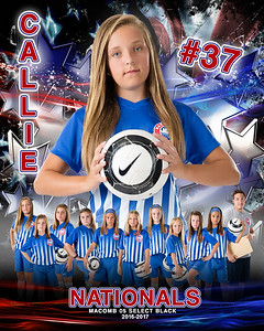 Callie Nationals Door Sign Template