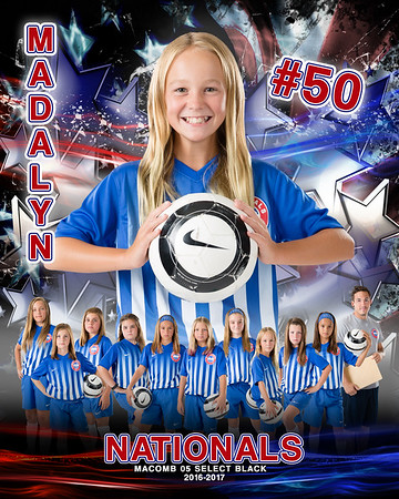 Madalyn Nationals Door Sign Template