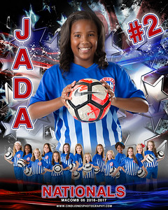 Jada Nationals Door Sign Template