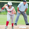 Neshannock's Marissa DeMatteo heads for third base.  — Tiffany Wolfe