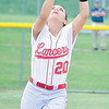 Corey J. Corbin/NEWS<br /> Neshannock third baseman Gina Zingaro watches a pop-up into her glove.