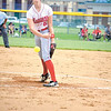 Corey J. Corbin/NEWS<br /> Neshannock's Madison Shaffer pitches in the first inning yesterday.