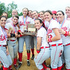 The team with the WPIAL championship trophy. — Tiffany Wolfe