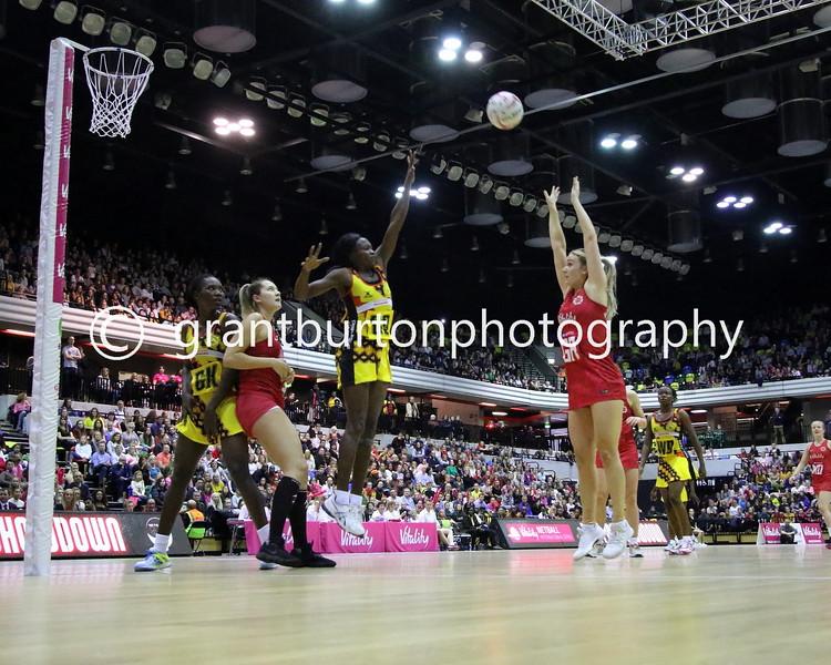 England v Uganda – Vitality Netball International Series - London