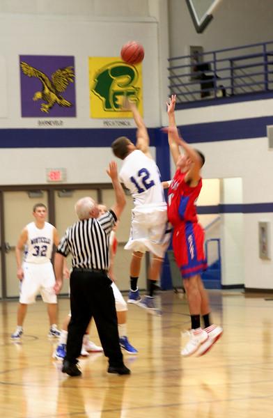 New Glarus vs Monticello Basketball