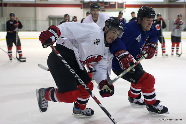 New Jersey Devils Training Camp 2007