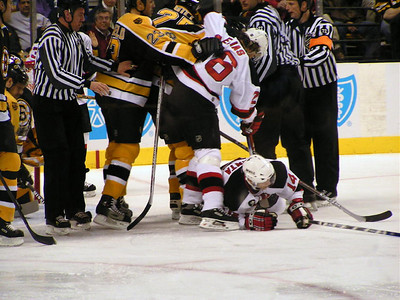 New Jersey Devils at Boston Bruins  2-9-06