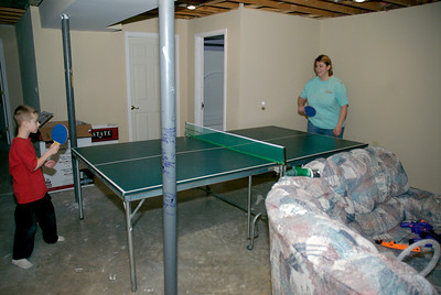 New Ping Pong table