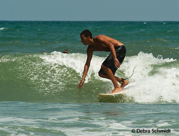 Surfers  New Symrna Beach, Florida