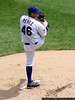 Ollie Perez on the mound.