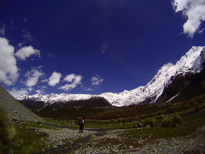 Hooker Glacier Moraine. Photo by Ben.