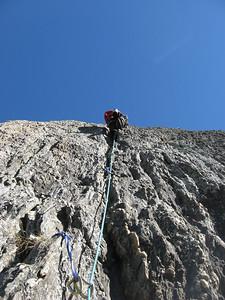 Climbing Hospital Flats classic crack climb