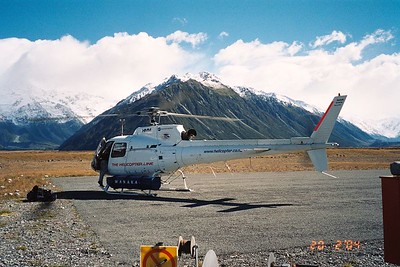 Our transport up to Kelman Hut. 19 Feb 04