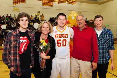 Newport Basketpall Parents Night