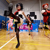 Junior dancers from the Midwest Regional Ballet entertain guests with a Disney-themed performance at the Joplin Family YMCA's Heatlhy Kids Day on Saturday at the YMCA.<br /> Globe | Laurie Sisk
