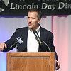 Missouri Governor Eric Greitens addresses local Republicans during the annual Jasper-Newton County Lincoln Day Dinner March 24 at Calvary Baptist Church.<br /> Globe | Laurie Sisk