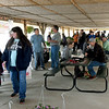 Guests check out the extensive offering of fresh food, crafts, plants and more on Saturday at the Webb City Farmers Market.<br /> Globe | Laurie Sisk