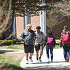 Students pass by the Billingsley Student Center on Thusday at Missouri Southern.<br /> Globe | Laurie SIsk
