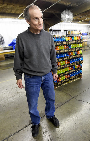 Rick Steere talks about his return to Joplin Workshops, Inc. after a fire in the laundry facility forced layoffs for about 50 of the workshops employees last year.<br /> Globe | Laurie Sisk