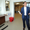Jeff Carrier, chief olinical cfficer at Freeman Health System, describes some of the features of the newly remodeled dialysis unit at Freeman West. The hospital is undergoing a variety of updates and remodels.<br /> Laurie Sisk| Globe