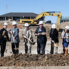 City of Joplin officials, Joplin Area Chamber of Commerce representatives and members of the development team break ground Tuesday morning on the new $9.4 million Memorial Hills senior living facility near 26th Street and McClelland Blvd.<br /> Globe | Laurie Sisk