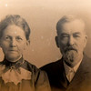Mildred Millisa Wilson Taylor is pictured with her husband, Lee Taylor - the first elected mayor in the City of Joplin -  in this vintage photograph supplied by descendant Jim Scott.<br /> Globe | Laurie SIsk
