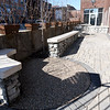 Repurposed demolition materials highlight the outdoor courtyard of the recently renovated Hurlbut Building at 212 S. Joplin St.<br /> Globe | Laurie Sisk