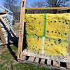 Bullet holes show minimal penetration into walls built by Missouri Southern physics major and U.S. Army veteran Kaitlyn Gonzalez that she created from soda bottles filled with sand, left, and dirt, right on her grandparents farm in Granby on Wednesday. Gonzalez tested the walls by firing various calibers of ammunition, with none piercing the walls more than halfway.<br /> Globe | Laurie Sisk