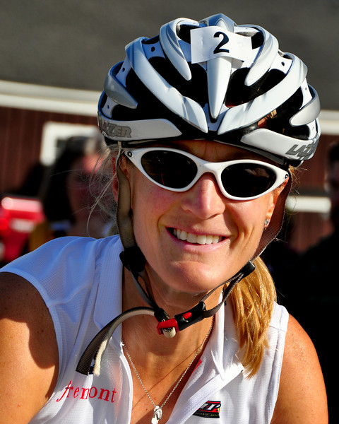 Marti Shea, formerly of Manchester, NH, now based in Marblehead, MA won the Women's Division of the 5th Annual Newton's Revenge bicycle race, on July 11th, 2010, up the 6,288' Mt. Washington, The 47 year old, has won this event, up the 7.6 course on the Mt. Washington Auto Road, in Pinkham Notch, NH, 4 times, clocking in at 1:09:36.
