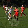 Newtown High's girls' soccer team blanked Stratford 4-0 at Treadwell Park on October 5. (Andy Hutchison photo)