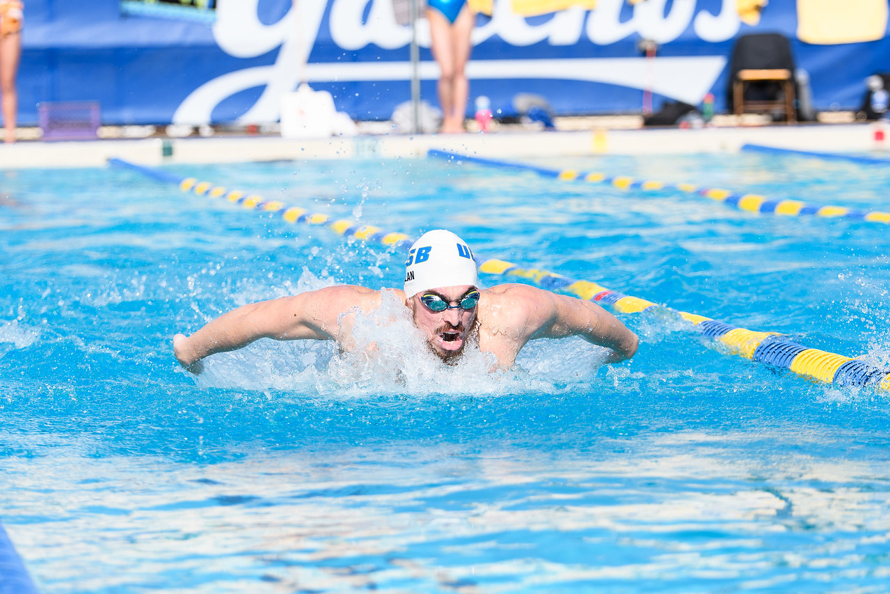 Chris Nolan swims the 200 fly