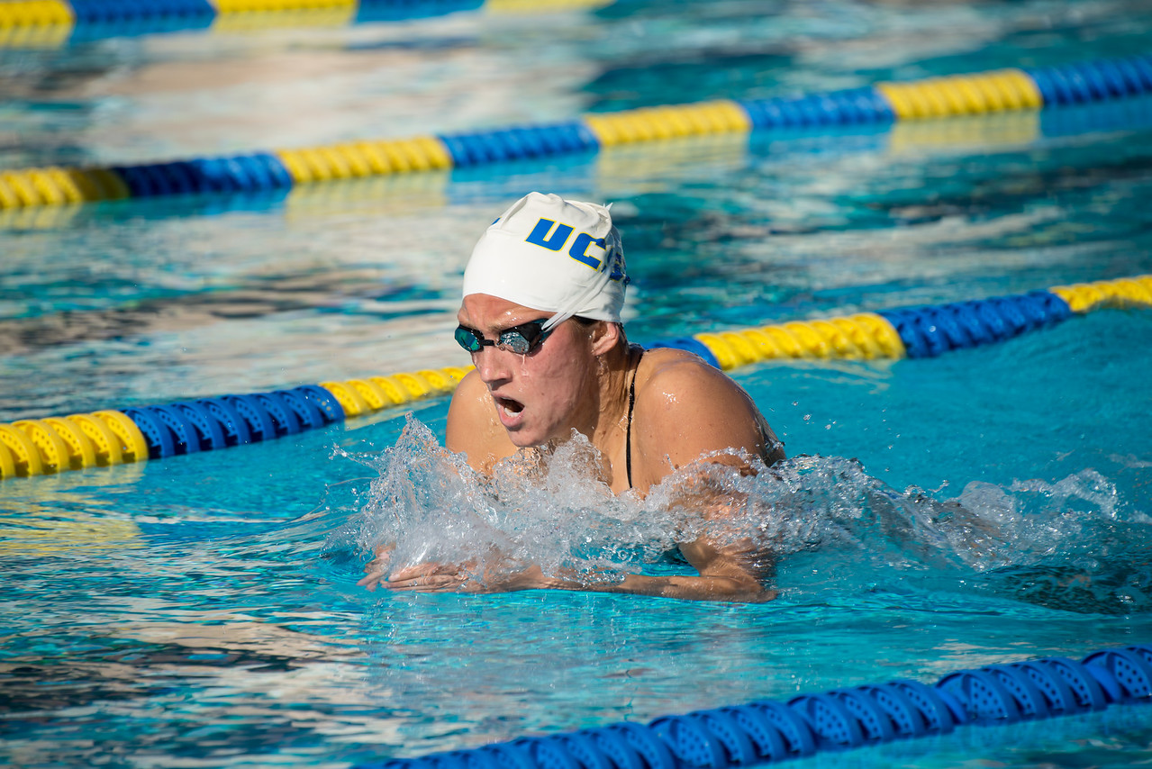 Exhibition Swim: 200 IM by Andrea Ward