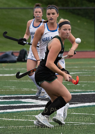 Nichols Field Hockey vs UNE 9/21/18