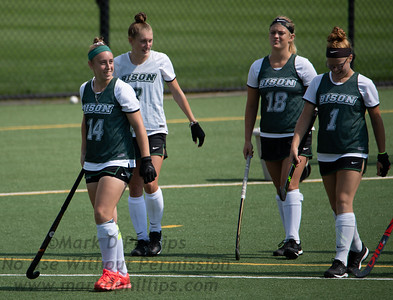 Nichols College Field Hockey plays Smith College on September 4, 2021. Smith won 8-1.