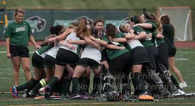 Nichols College Field Hockey defeats Thomas College 1-0 in the first home game of the 2017-18 season.