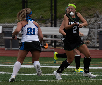 Nichols College Field Hockey suffered a 2-1 loss against Becker College on Saturday, September 14, 2019. MACKENZIE DORAN