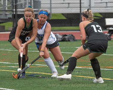 Nichols College Field Hockey suffered a 2-1 loss against Becker College on Saturday, September 14, 2019.