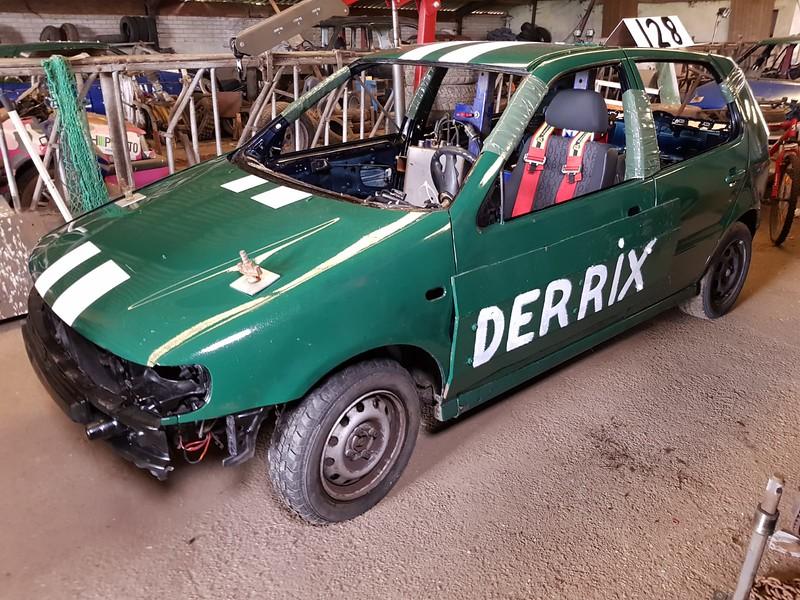 Nieuwe auto Mark Derrix