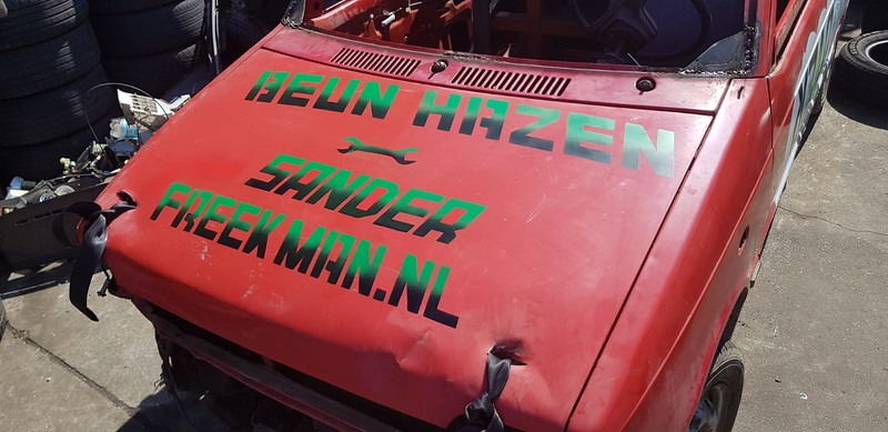 Ramp Rollover auto Mark Evel Knievel de Laat