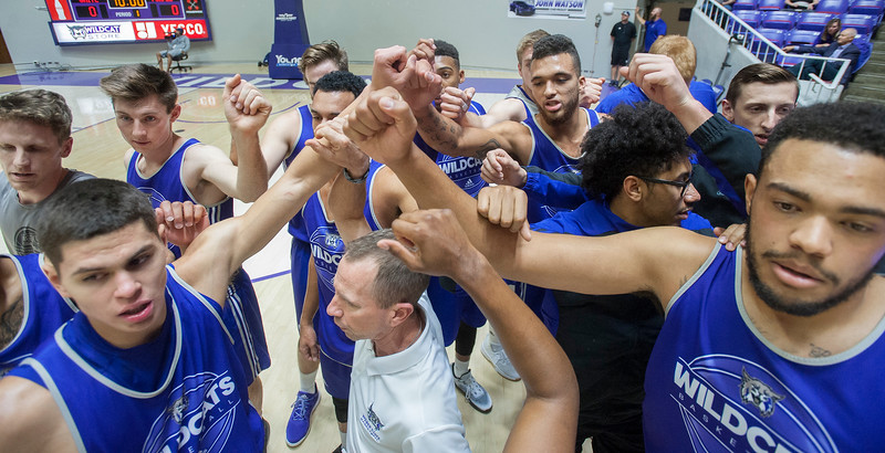 """The """"Night with the Wildcats"""" takes place on Wednesday October 18, 2017. Both the women's and men's basketball team scrimmage against each other at the Dee Events Center in Ogden."""