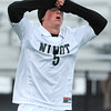 Niwot High School's Aaron Mitchell shows his disappointment after a missed goal attempt during a game against Denver West High School on Thursday, Oct. 25, at Frederick High School.<br /> Jeremy Papasso/ Camera