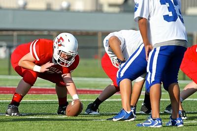 Nolan Danville MS Football 2014