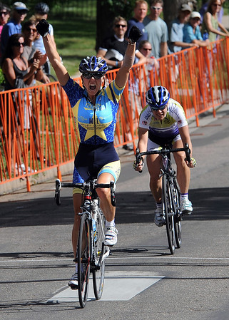 "Megan Hottman wins the women's pro race of the North Boulder Park Classic on Saturday.<br /> For more photos of both pro men and women, go to  <a href=""http://www.dailycamera.com"">http://www.dailycamera.com</a><br />  Cliff Grassmick / July 10, 2010"